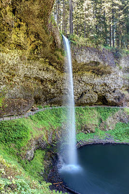 Photograph - South Falls At Silver Falls by Pierre Leclerc Photography