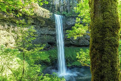 Photograph - South Falls During Spring by Belinda Greb