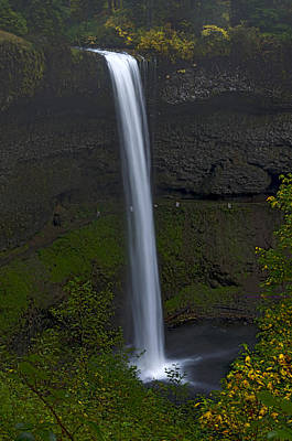 Best Stock Photograph - South Falls In Silver Falls State Park Near Silverton, Oregon. by James Little