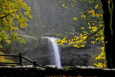 Photograph - South Falls Of Silver Creek by Albert Seger