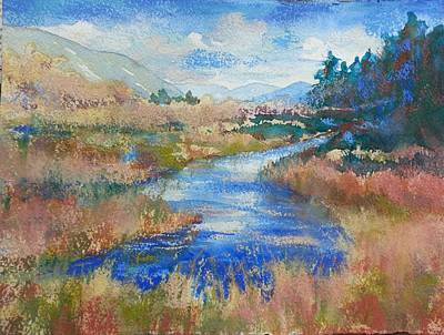 Painting - South Fork II by Becky Chappell