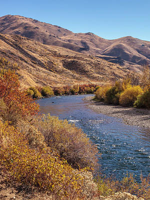 Photograph - South Fork In Autumn by Mark Mille