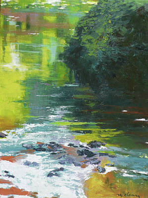 Painting - South Fork Silver Creek 2 by Melody Cleary