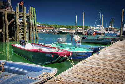 Photograph - South Freeport Pier by Guy Whiteley