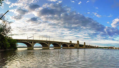 Photograph - South Hanover St Bridge - Pano by Brian Wallace