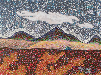 American West Mixed Media - South Helena #2 by Dale Beckman