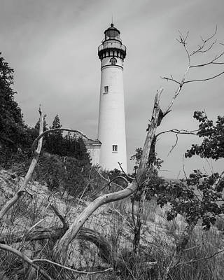 Photograph - South Manitou Island Lighthouse  by Kimberly Kotzian