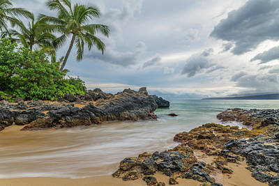 Photograph - South Maui Secret Beach by Ian Sempowski