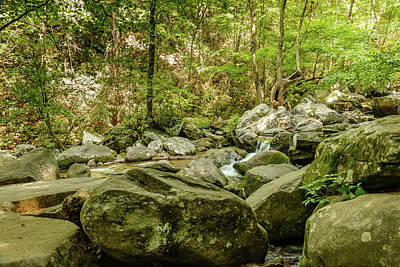 Photograph - South Mountains River Rocks by Joni Eskridge