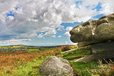 Photograph - South Of Carn Brea by Terri Waters