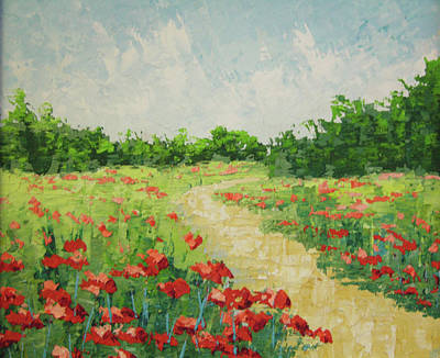 South Of France Painting - South Of France Rougon by Frederic Payet