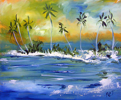 Painting - South Pacific by Patricia Taylor
