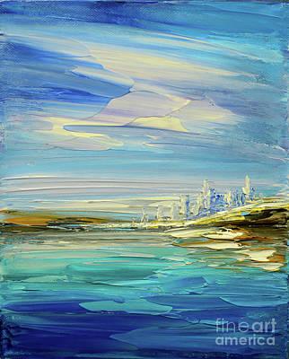 Painting - South Pacific by Tatiana Iliina
