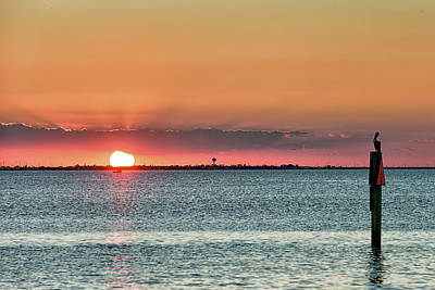 Photograph - South Padre Island Sunset by Victor Culpepper
