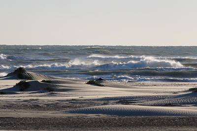 Photograph - South Padre Island Surf by Keith Stokes