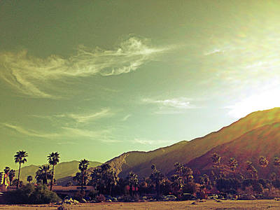 Photograph - South Palm Springs California by Amyn Nasser