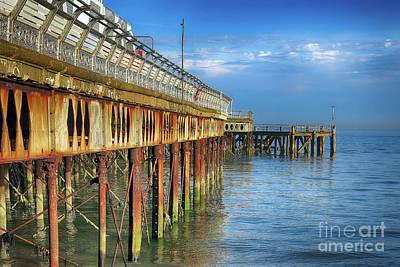 Photograph - South Parade Pier by Teresa Zieba