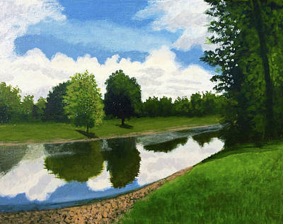 Painting - South Park Pierce City by Dustin Miller