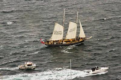 Photograph - South Passage Entering Sydney by Miroslava Jurcik