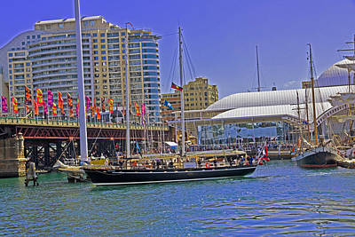 Photograph - South Passage Goes Into Darling Harbour by Miroslava Jurcik