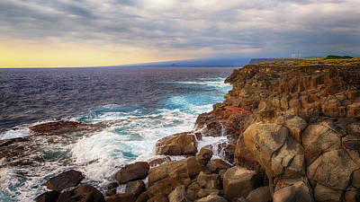Photograph - South Point Sea Cliffs by Susan Rissi Tregoning
