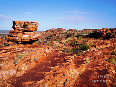 Photograph - South Rim - Kings Canyon, Northern Territory, Australia by Lexa Harpell