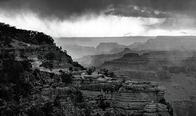 Photograph - South Rim Light by Art Cole