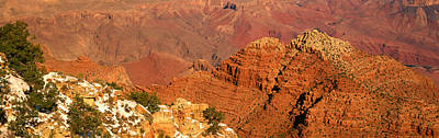 Grand View Of Nature Photograph - South Rim Of The Grand Canyon, Arizona by Panoramic Images