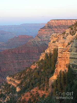 Photograph - South Rim Sunset by Louise Magno