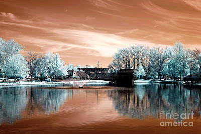 Photograph - South River Infrared Colors by John Rizzuto
