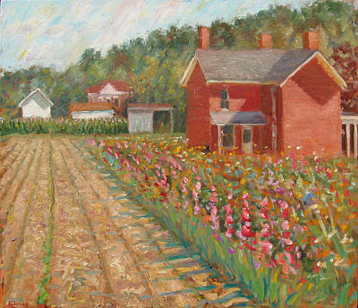 Painting - South River Road by Paul Emory