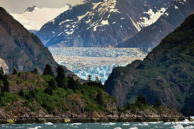 Photograph - South Sawyer Glacier by David Halperin