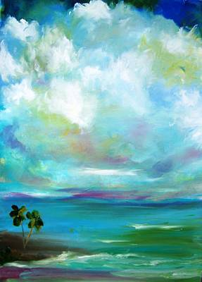 Painting - South Sea Blue Lagoon by Patricia Taylor