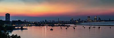 Photograph - South Shore Sunset by Randy Scherkenbach