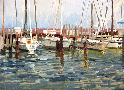 South Shore Yacht Club No.10 Original by Anthony Sell
