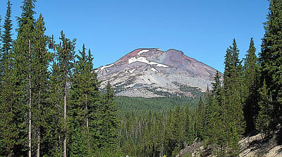 South Sister Art Print by Larry Darnell