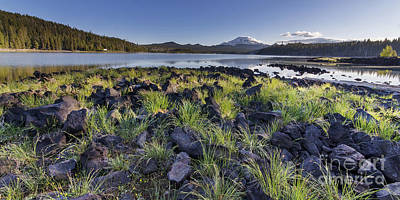 Bend Oregon Photograph - South Sister Over Elk Lake by Twenty Two North Photography