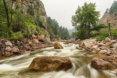 South St Vrain Canyon Boulder County Colorado Art Print by James BO  Insogna
