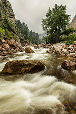 Photograph - South St Vrain Canyon Portrait Boulder County Co by James BO  Insogna