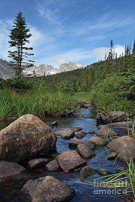Photograph - South St. Vrain Creek by Jim Garrison