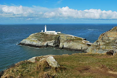 Photograph - South Stack Light House by Lynn Hughes