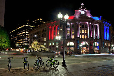 Photograph - South Station - Boston, Ma by Joann Vitali