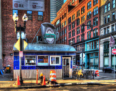Photograph - South Street Diner 011 by Jeff Stallard
