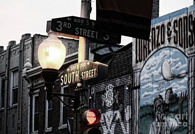 South Street Philly 1 Art Print