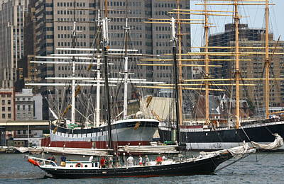 Photograph - South Street Seaport Pioneer by Christopher Kirby