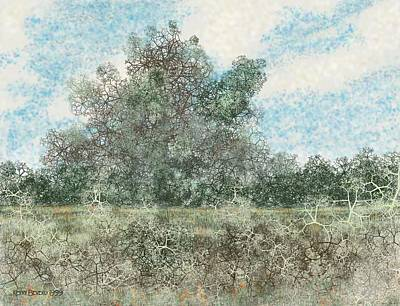 Digital Art - South Texas Brush Country I by Kerry Beverly