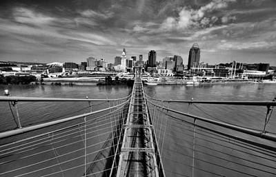 Ohio River Photograph - South Tower by Russell Todd