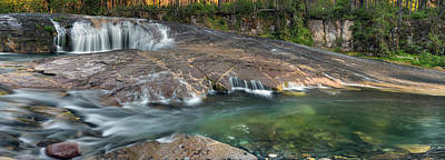 Photograph - South Umpqua Falls by Leland D Howard