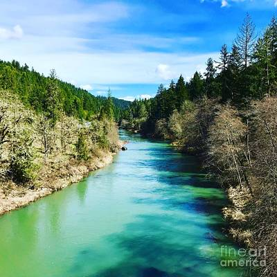 Photograph - South Umpqua River Oregon  by Suzanne Lorenz