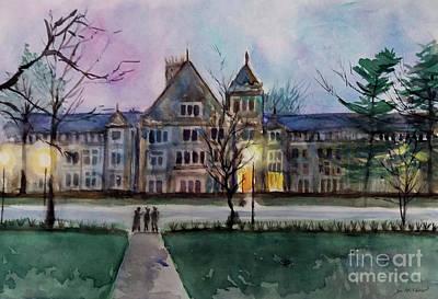 Painting - South University Avenue 2 by Yoshiko Mishina